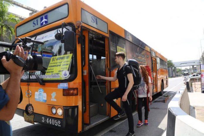 s1 bus - COMO SAIR E CHEGAR NOS AEROPORTOS DE BANGKOK