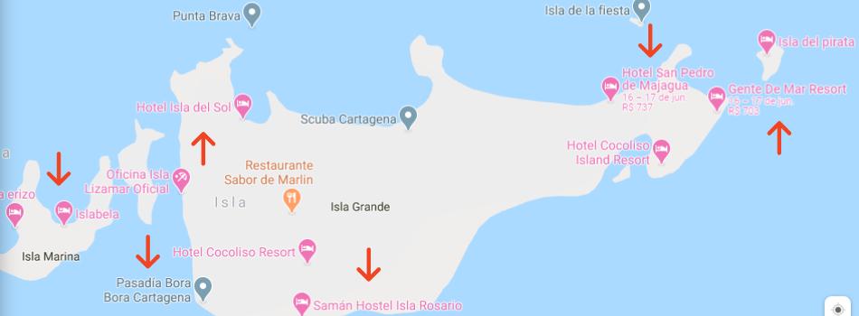 o que fazer em cartagena ilhas do rosário - O QUE FAZER EM CARTAGENA?